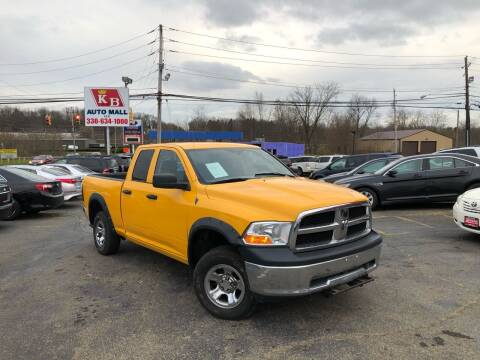 2010 Dodge Ram Pickup 1500 for sale at KB Auto Mall LLC in Akron OH