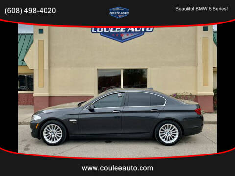 2012 BMW 5 Series for sale at Coulee Auto in La Crosse WI