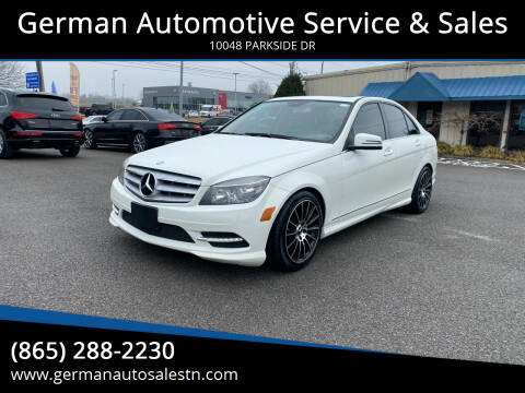 2011 Mercedes-Benz C-Class for sale at German Automotive Service & Sales in Knoxville TN