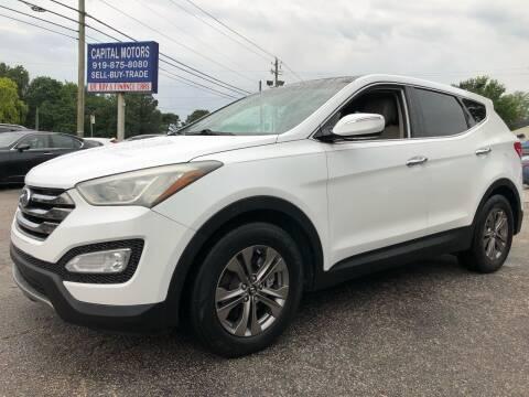 2013 Hyundai Santa Fe Sport for sale at Capital Motors in Raleigh NC