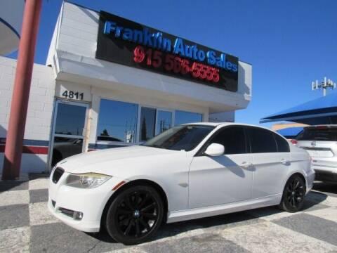 2011 BMW 3 Series for sale at Franklin Auto Sales in El Paso TX