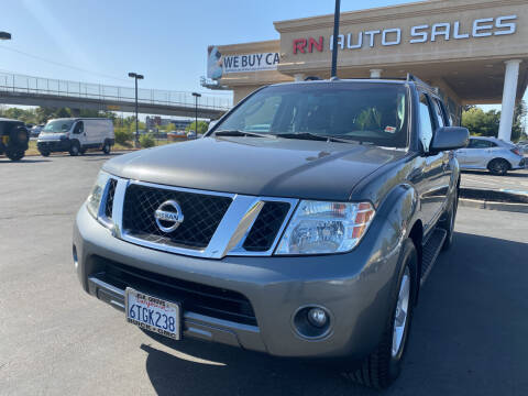 2008 Nissan Pathfinder for sale at RN Auto Sales Inc in Sacramento CA
