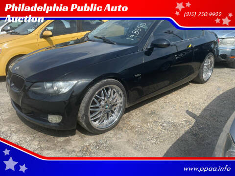 2008 BMW 3 Series for sale at Philadelphia Public Auto Auction in Philadelphia PA