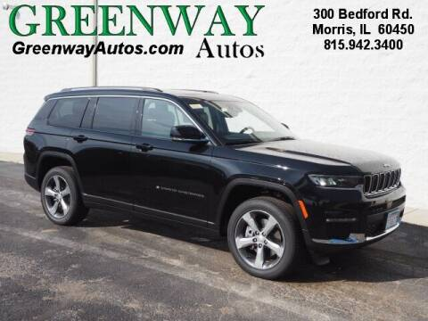 2021 Jeep Grand Cherokee L for sale at Greenway Automotive GMC in Morris IL