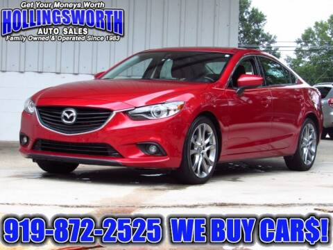 2015 Mazda MAZDA6 for sale at Hollingsworth Auto Sales in Raleigh NC