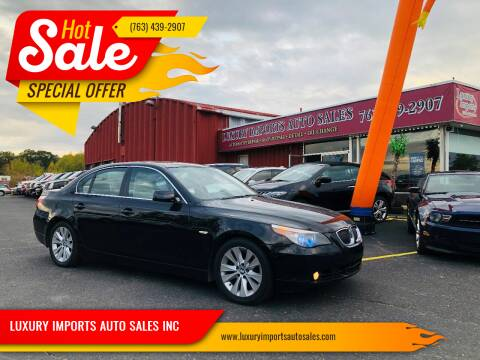 2006 BMW 5 Series for sale at LUXURY IMPORTS AUTO SALES INC in North Branch MN
