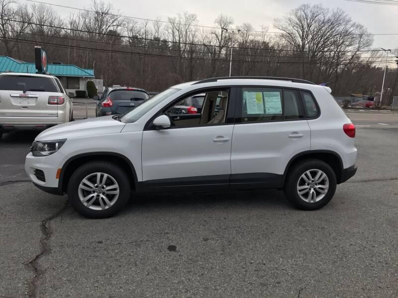 2017 Volkswagen Tiguan for sale at M G Motors in Johnston RI
