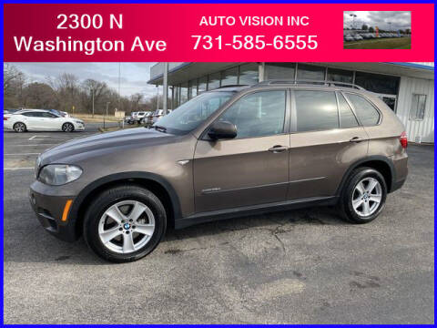 2011 BMW X5 for sale at Auto Vision Inc. in Brownsville TN