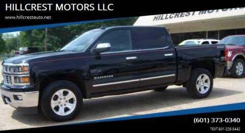 2015 Chevrolet Silverado 1500 for sale at HILLCREST MOTORS LLC in Byram MS
