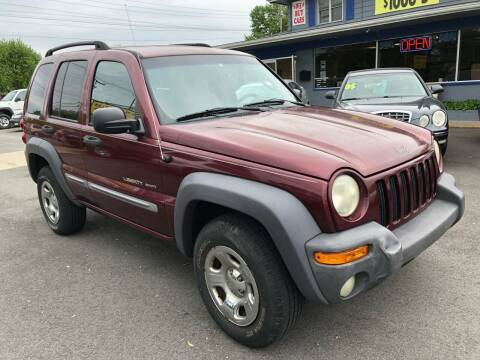 2002 Jeep Liberty for sale at Wise Investments Auto Sales in Sellersburg IN