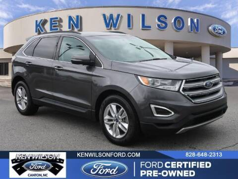 2016 Ford Edge for sale at Ken Wilson Ford in Canton NC