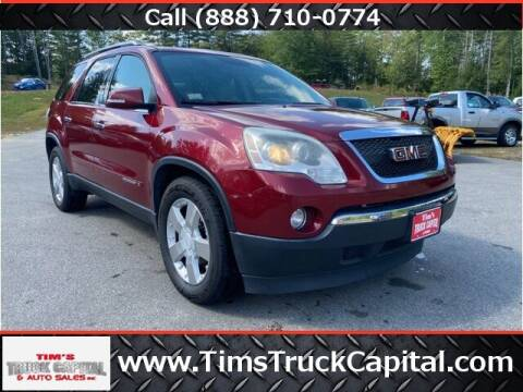 2008 GMC Acadia for sale at TTC AUTO OUTLET/TIM'S TRUCK CAPITAL & AUTO SALES INC ANNEX in Epsom NH