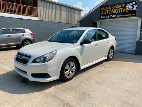 2013 Subaru Legacy for sale at Dalton George Automotive in Marietta OH