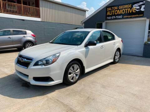 2013 Subaru Legacy for sale at Dalton George Automotive in Marietta OH