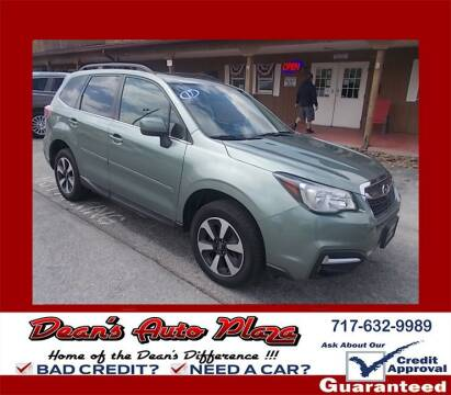 2017 Subaru Forester for sale at Dean's Auto Plaza in Hanover PA