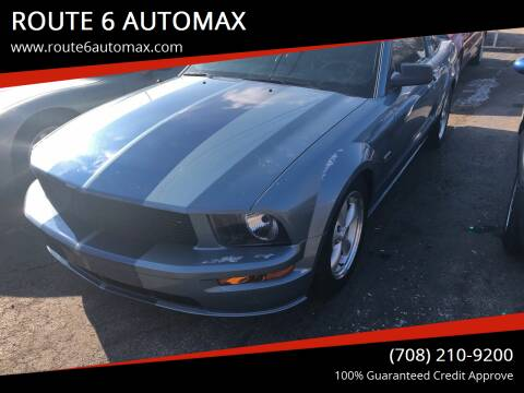 2006 Ford Mustang for sale at ROUTE 6 AUTOMAX in Markham IL