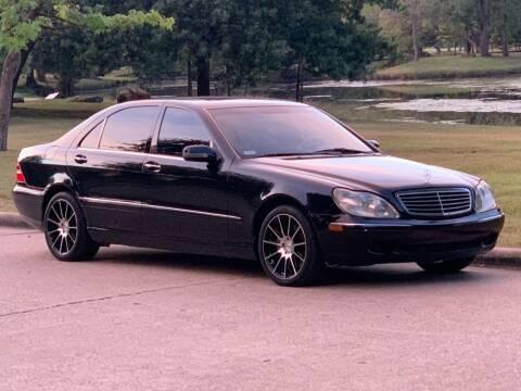 2000 Mercedes-Benz S-Class for sale at Texas Car Center in Dallas TX