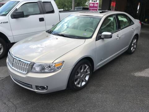 2009 Lincoln MKZ for sale at TNT Auto Sales in Bangor PA