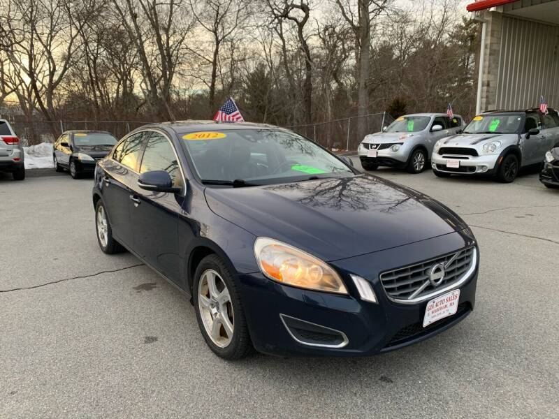 2012 Volvo S60 for sale at Gia Auto Sales in East Wareham MA