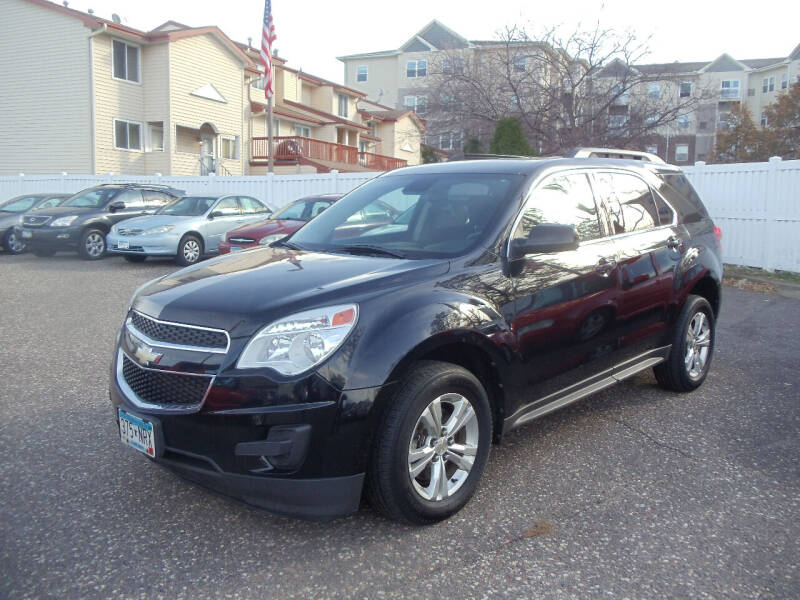 2012 Chevrolet Equinox for sale at Metro Motor Sales in Minneapolis MN