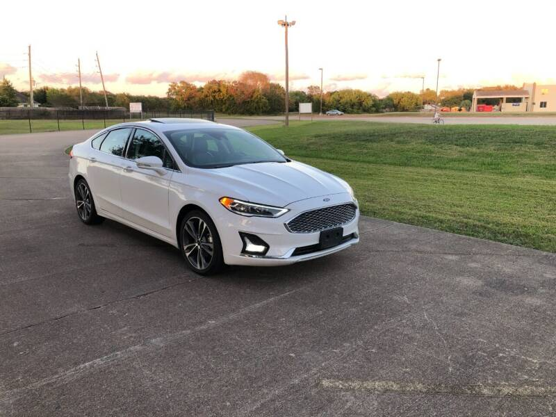 2020 Ford Fusion for sale at Orange Auto Sales in Houston TX