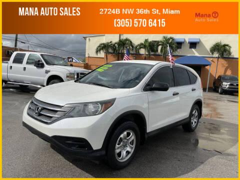 2014 Honda CR-V for sale at MANA AUTO SALES in Miami FL