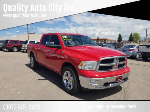 2012 RAM Ram Pickup 1500 for sale at Quality Auto City Inc. in Laramie WY