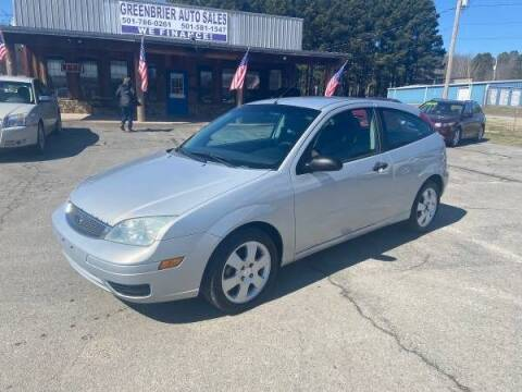 2005 Ford Focus for sale at Greenbrier Auto Sales in Greenbrier AR