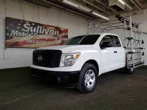 2017 Nissan Titan for sale at SULLIVAN MOTOR COMPANY INC. in Mesa AZ