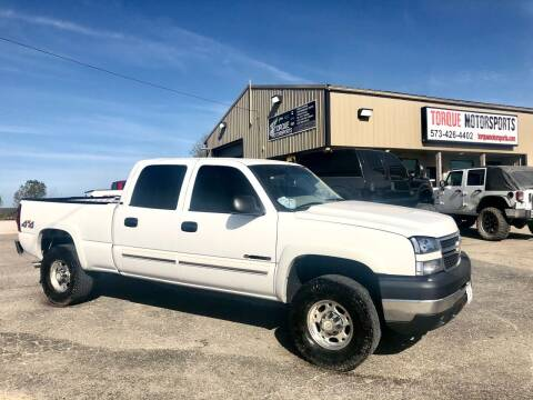 2006 Chevrolet Silverado 2500HD for sale at Torque Motorsports in Rolla MO
