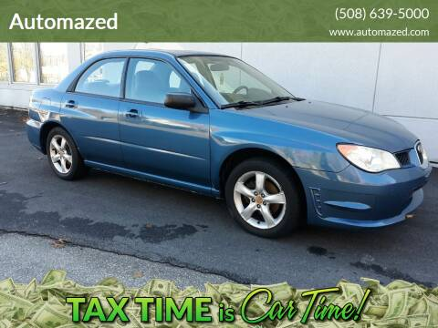 2007 Subaru Impreza for sale at Automazed in Attleboro MA