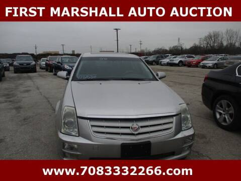 2006 Cadillac STS for sale at First Marshall Auto Auction in Harvey IL