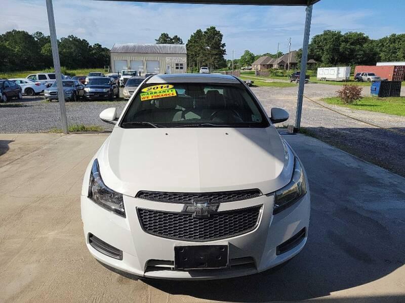 2014 Chevrolet Cruze for sale at Auto Guarantee, LLC in Eunice LA