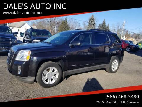 2013 GMC Terrain for sale at DALE'S AUTO INC in Mount Clemens MI