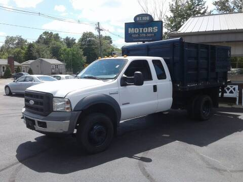 2005 Ford F-450 Super Duty for sale at Route 106 Motors in East Bridgewater MA