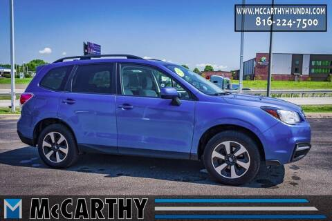 2018 Subaru Forester for sale at Mr. KC Cars - McCarthy Hyundai in Blue Springs MO