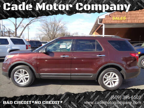 2012 Ford Explorer for sale at Cade Motor Company in Lawrenceville NJ