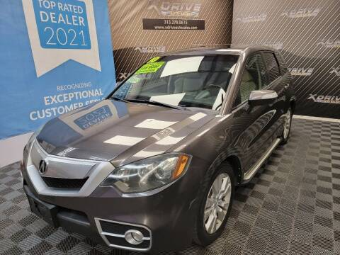 2010 Acura RDX for sale at X Drive Auto Sales Inc. in Dearborn Heights MI