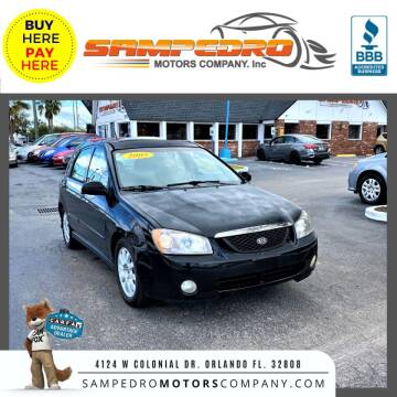 2005 Kia Spectra for sale at SAMPEDRO MOTORS COMPANY INC in Orlando FL