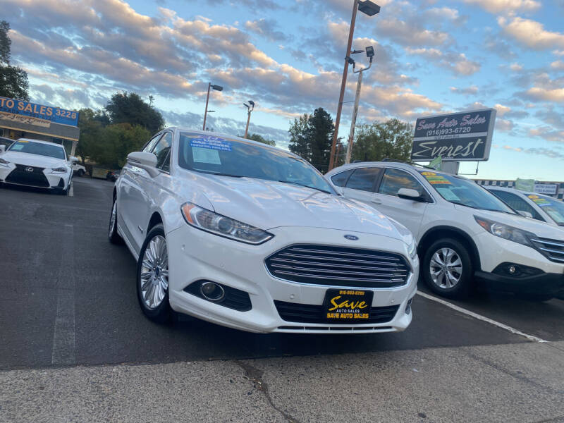 2014 Ford Fusion Hybrid for sale at Save Auto Sales in Sacramento CA