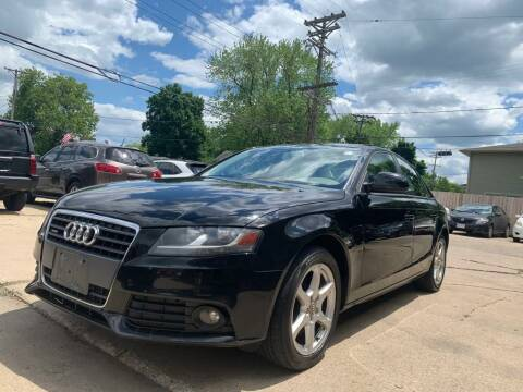 2009 Audi A4 for sale at LOT 51 AUTO SALES in Madison WI