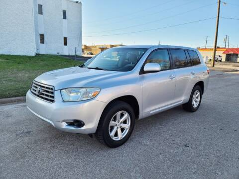 2008 Toyota Highlander for sale at DFW Autohaus in Dallas TX
