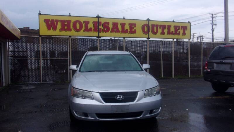 2007 Hyundai Sonata for sale at LONG BROTHERS CAR COMPANY in Cleveland OH