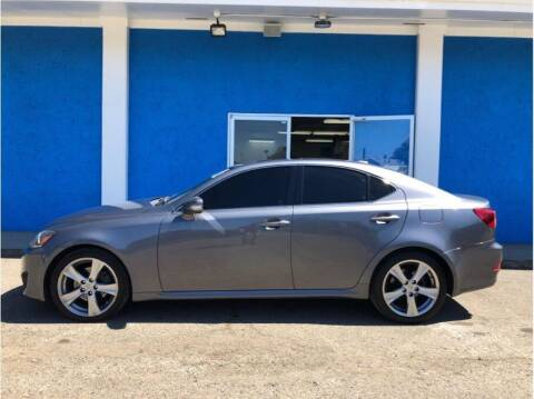 2012 Lexus IS 250 for sale at Khodas Cars in Gilroy CA