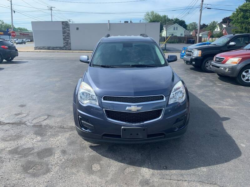 2013 Chevrolet Equinox for sale at L.A. Automotive Sales in Lackawanna NY