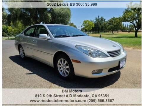 2002 Lexus ES 300 for sale at BM Motors in Modesto CA