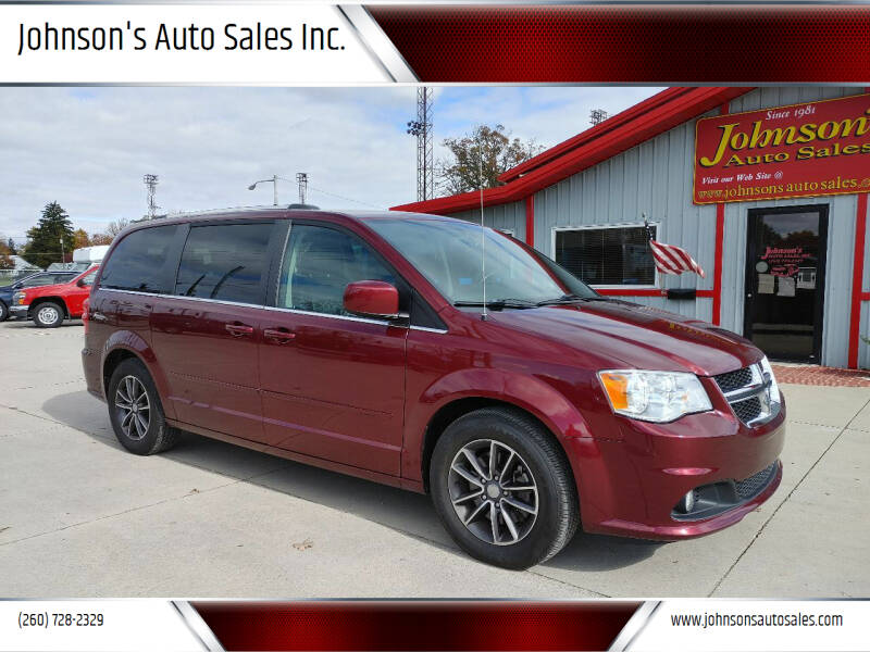 2017 Dodge Grand Caravan for sale at Johnson's Auto Sales Inc. in Decatur IN