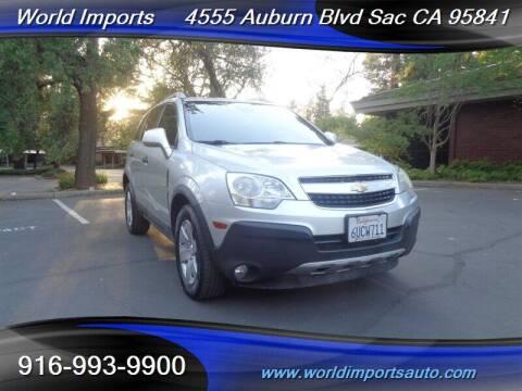 2012 Chevrolet Captiva Sport for sale at World Imports in Sacramento CA