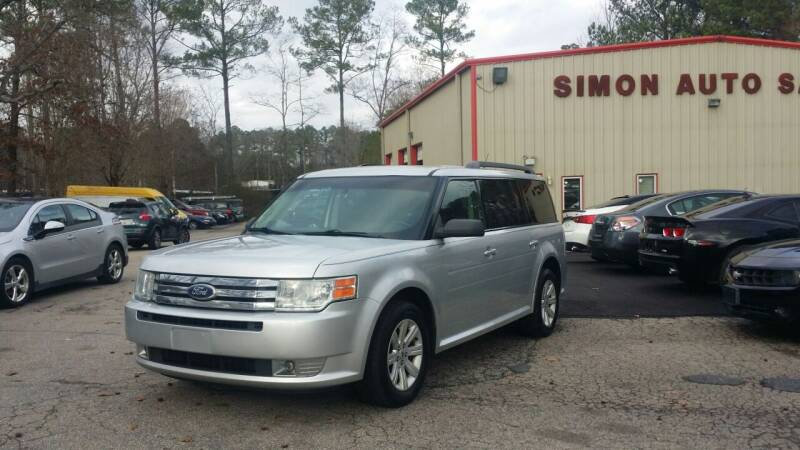 2011 Ford Flex for sale at Simon's Auto Sales in Clayton NC