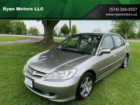 2004 Honda Civic for sale at Ryan Motors LLC in Warsaw IN
